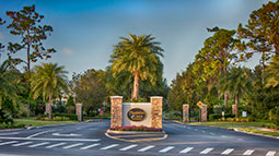 Plantation Oaks Front Gate