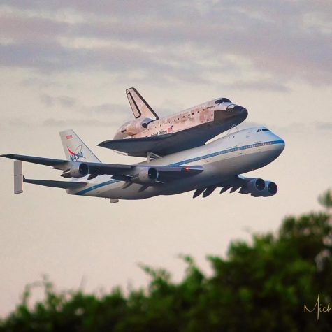 Shuttle Returning